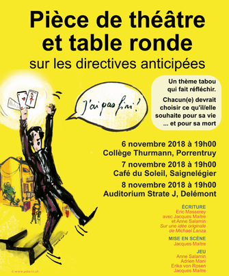 Directives anticipées affiche